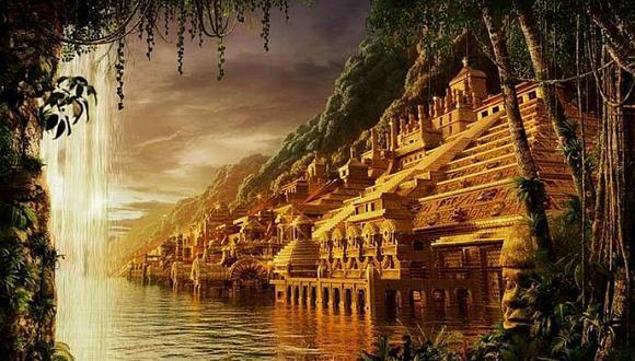 Las leyendas mencionan una ciudad de Oro llamada el Dorado