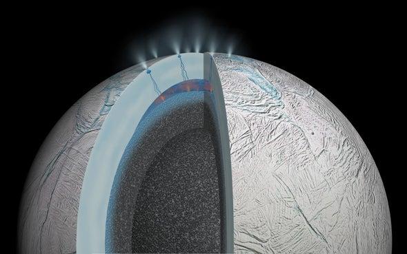 El hallazgo es la primera evidencia de actividad hidrotermal activa fuera de la Tierra