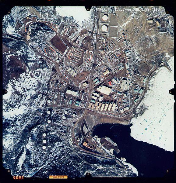 Estación McMurdo en la Antártida