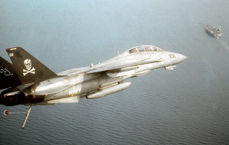 Avión Grumman F-14A Tomcat