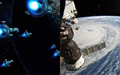 Reportan cientos de objetos No Identificados «volando» cerca de la Estación Espacial Internacional (VIDEO)