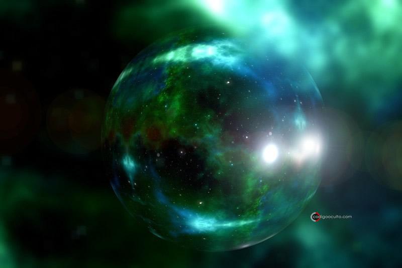 Representación de una galaxia