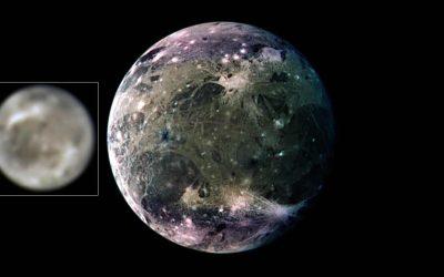 Ganímedes: Hubble detecta la primera evidencia de vapor de agua en la luna de Júpiter