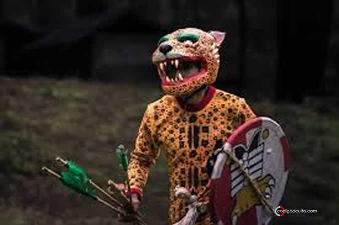 Representación artística de un Guerrero Jaguar