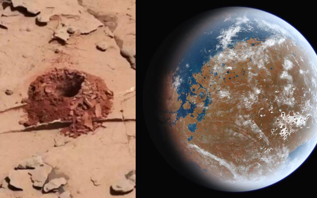 Hallan pruebas contundentes de que Marte pudo ser habitable alguna vez