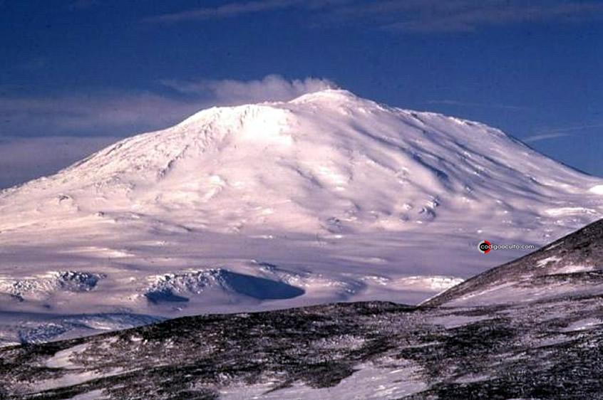 Monte Erebus, Isla Ross, Antártida
