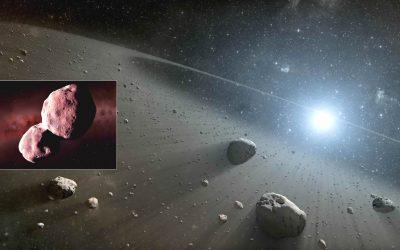 """Descubren dos enormes rocas rojas con """"materia orgánica compleja"""" en el cinturón de asteroides, y no deberían estar allí"""