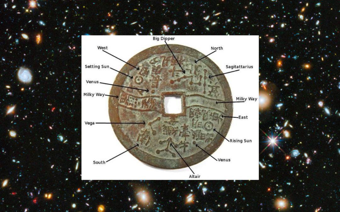 La Moneda china que describe cómo los astrónomos vieron el cielo hace 2.000 años
