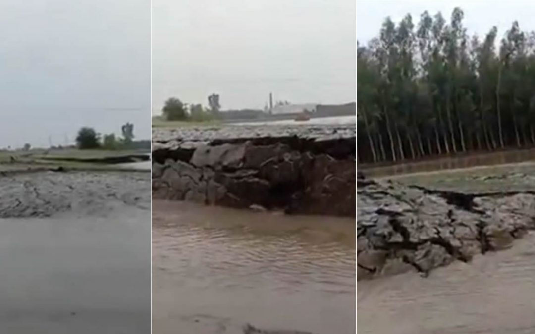 Pedazo de tierra se levantó por sí sola en la India, y los internautas buscan una explicación (VIDEO)