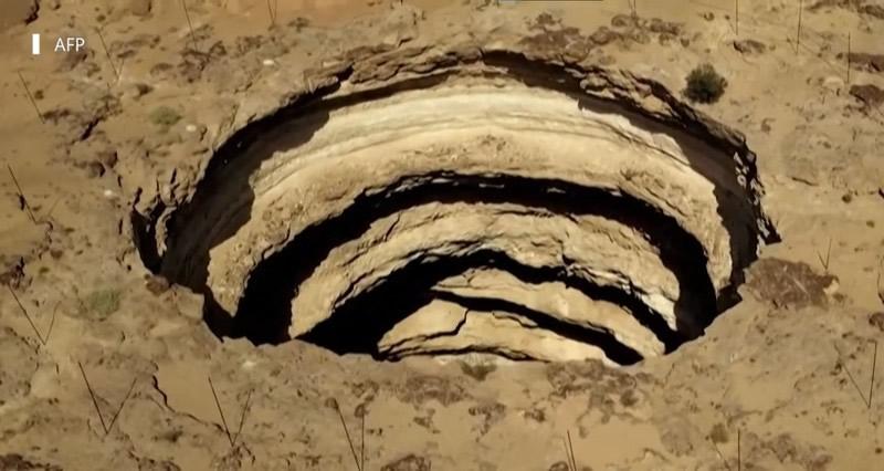 Una captura de pantalla mostrando el agujero de Barhout