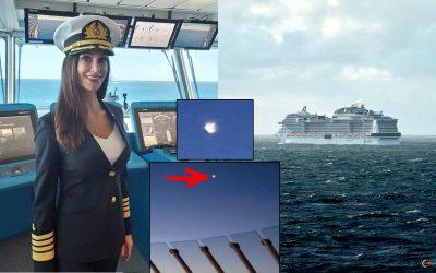Capitana de crucero de EE. UU. registra un No identificado con forma de «Medusa» cerca de su embarcación