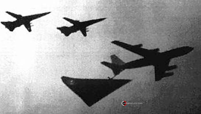 Avistamientos de la aeronave Aurora en los años 90
