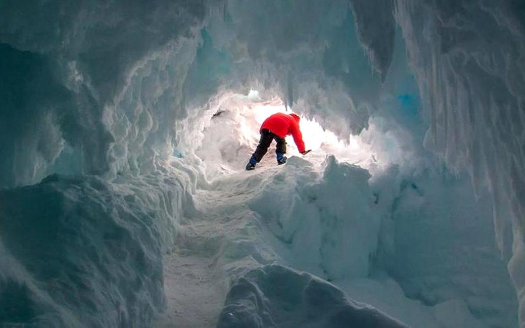 Animales y plantas desconocidas podrían ocultarse en cuevas profundas de la Antártida