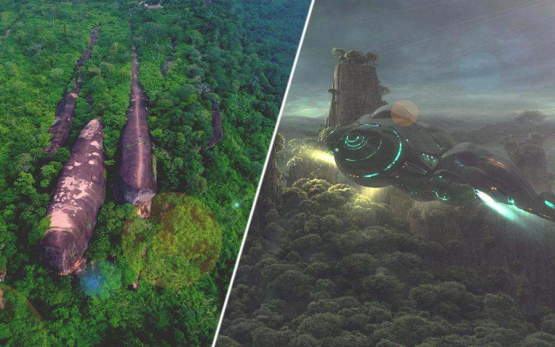 El enigma de las rocas de 75 millones de años en Tailandia que parecen una nave espacial caída
