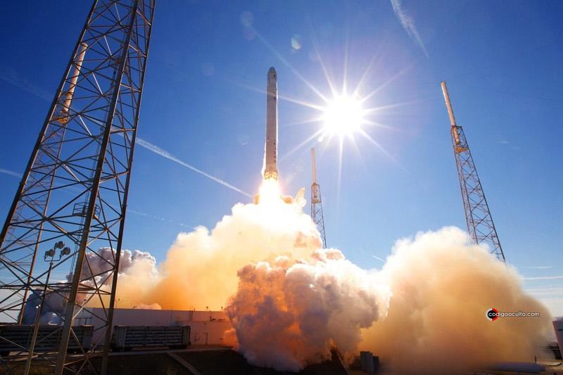 Lanzamiento de cohete de SpaceX