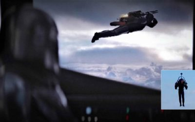 """""""Rocket man"""" ha regresado. Humanoide volador con jetpack es visto cerca de aeropuerto de Los Ángeles"""