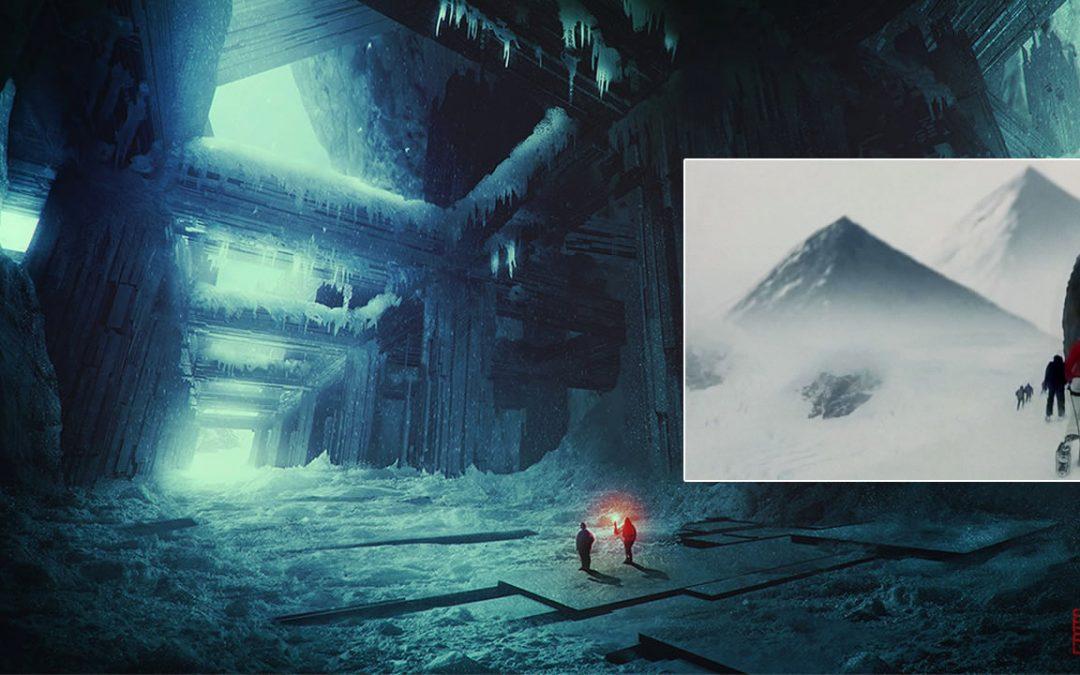 ¿Se hallaron las ruinas de una antigua civilización en la Antártida?