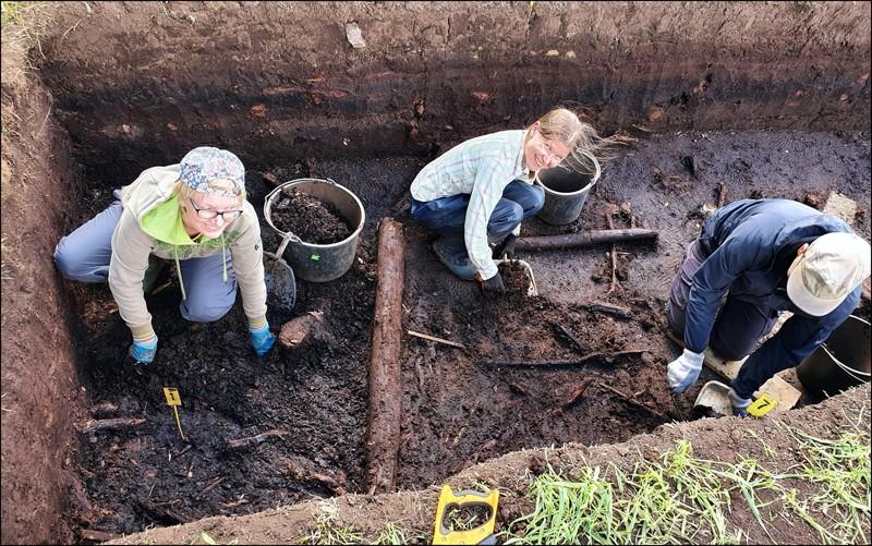 Los arqueólogos que realizaron el hallazgo regresaron al sitio en 2019