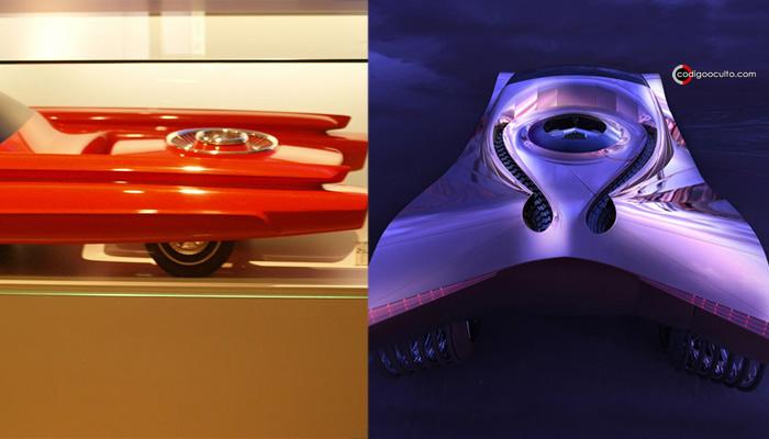 Reactor del Ford Nucleon en comparación con el del Cadillac Wolrd Thorium Concept