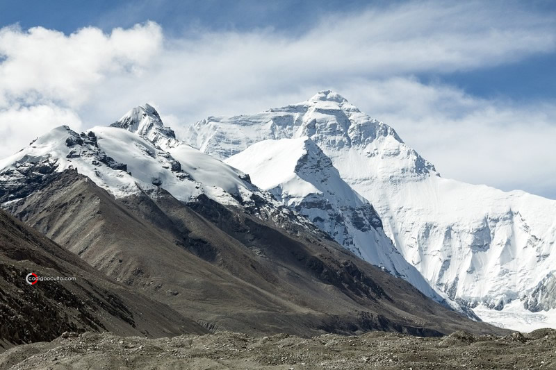 Montañas en el Tíbet