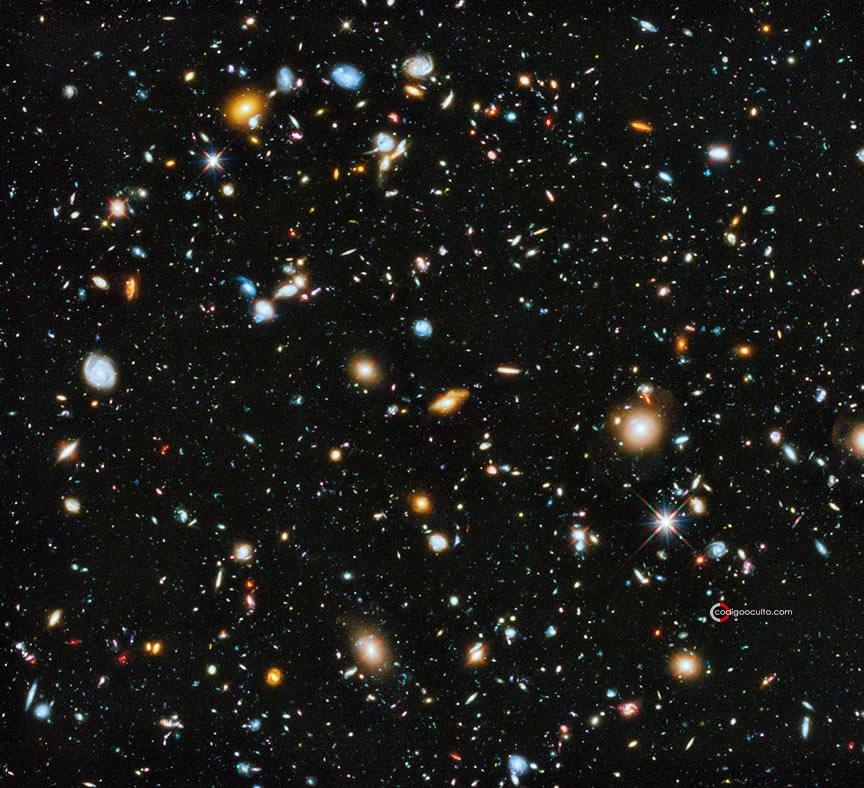 Una vista del universo conocido