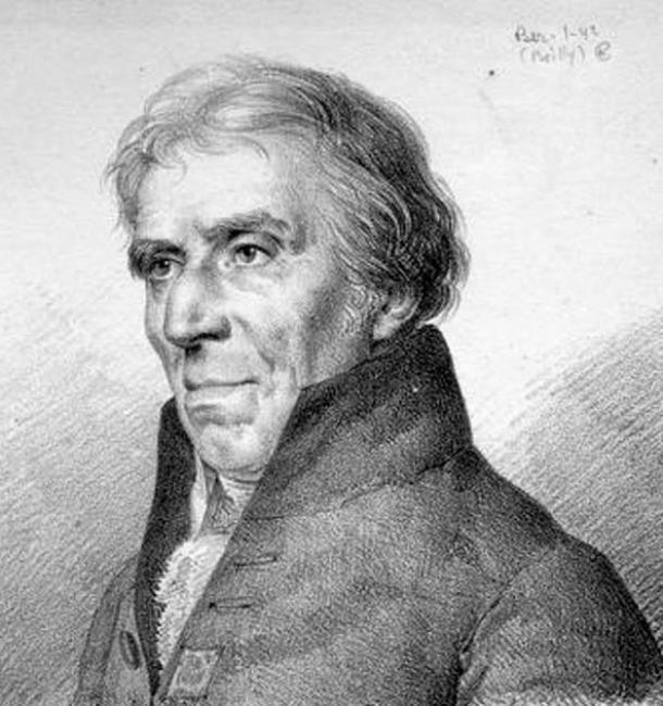 Boceto de Philippe Buache de la Neuville