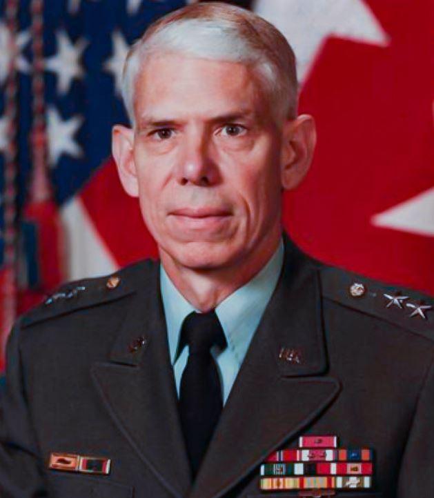 Albert Stubblebine, mayor general del ejército de EE. UU.