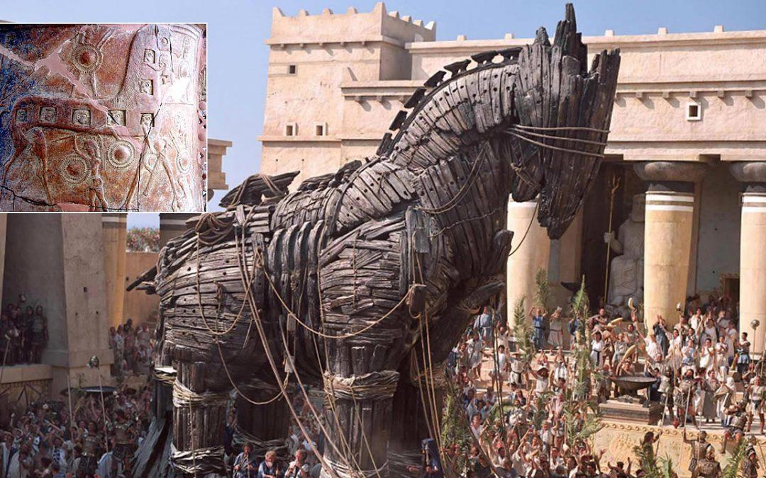 """Arqueólogos afirman haber descubierto el """"Caballo de Troya"""" en Turquía"""