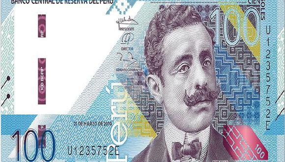 El billete con la imagen de Pedro Paulet forma parte de la nueva familia de billetes que ha puesto en circulación el Banco Central de Reserva del Perú en el año 2021