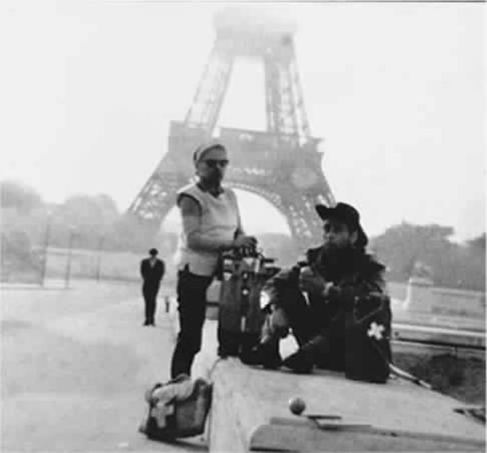 Billy Meier durante su paso por Francia, 1962