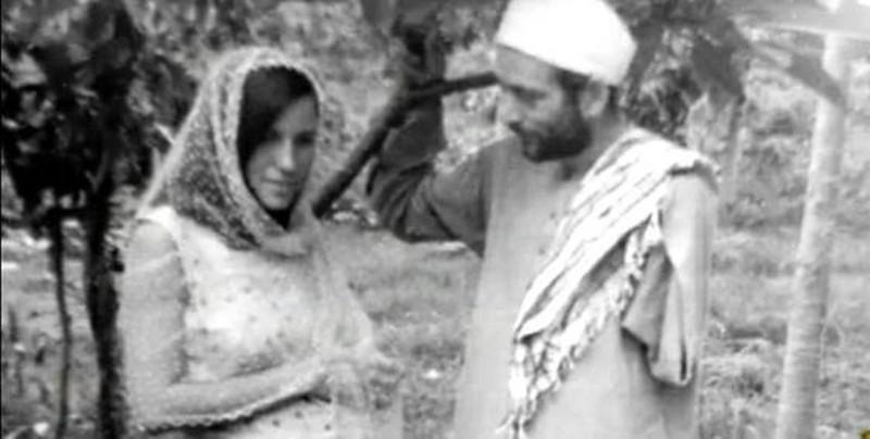 Billy Meir retratado junto a su esposa Kalliope Zafiriou en 1965, a quién conociera en Grecia