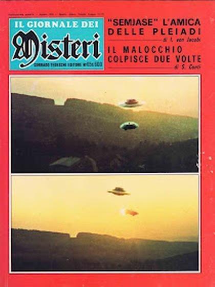Uno de los primeros artículos sobre las experiencias de Meier con Semjase, 1976