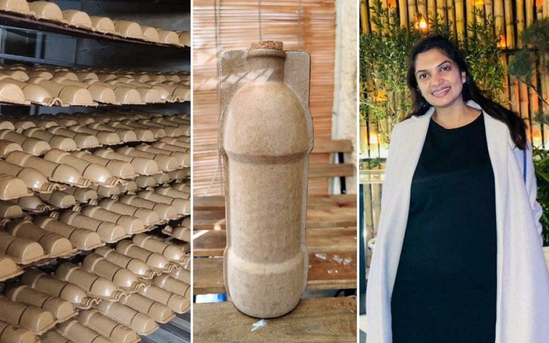 Desarrollan primeras botellas de papel reciclado 100% biodegradable para reemplazar al plástico