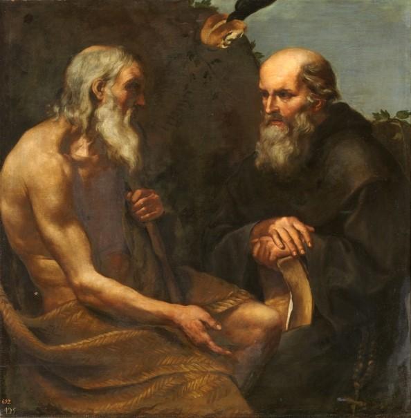 Encuentro de Antonio y Pablo