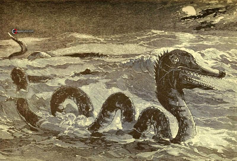 En la historia antigua existen diversas leyendas relacionadas a avistamientos de enormes criaturas marinas