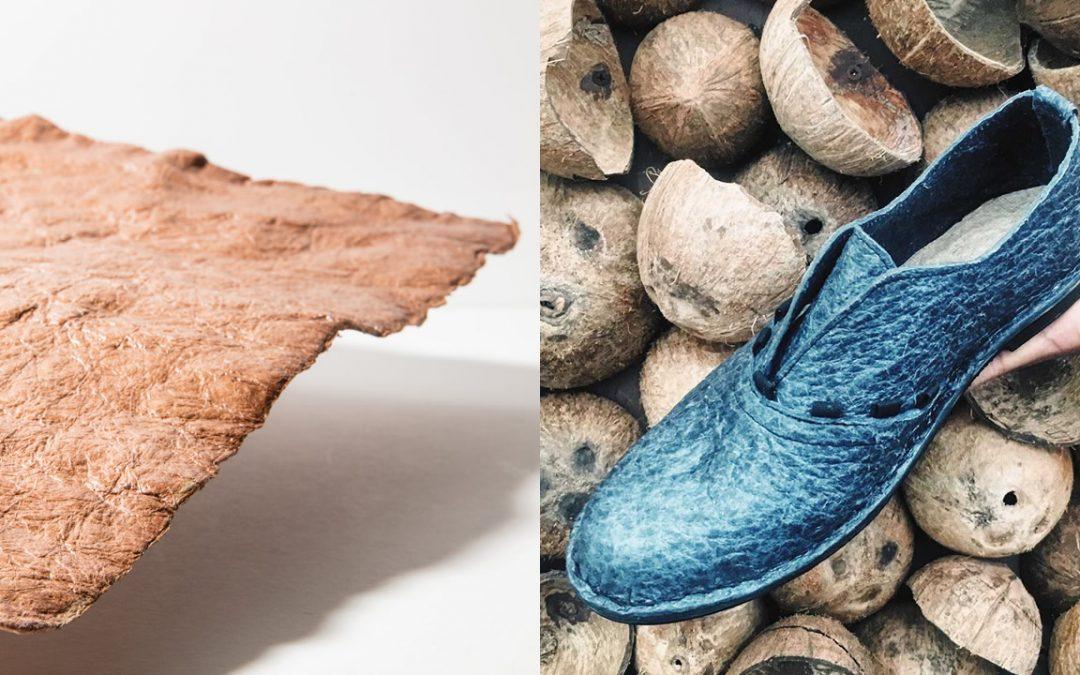 Desarrollan cuero vegetal a base de agua de coco, como alternativa al cuero animal