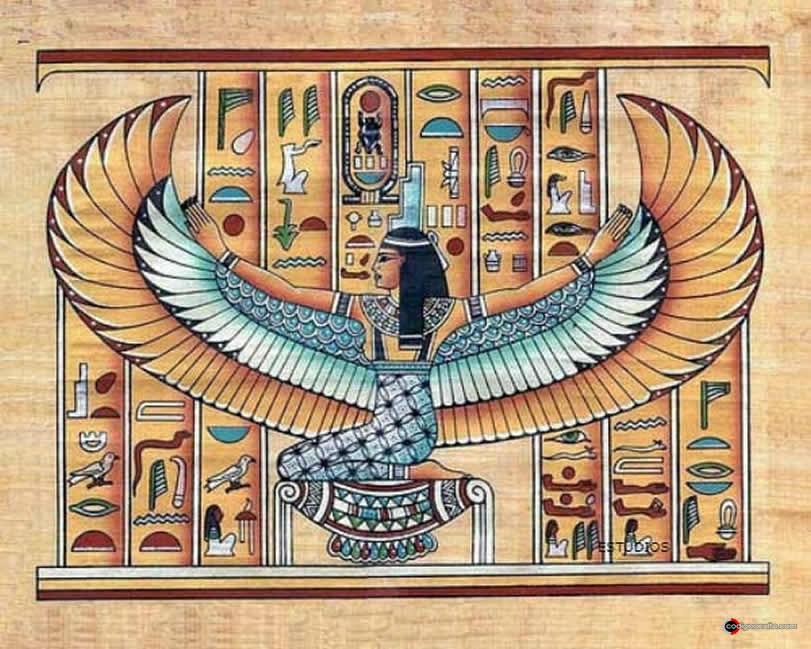 La diosa Isis en el antiguo Egipto