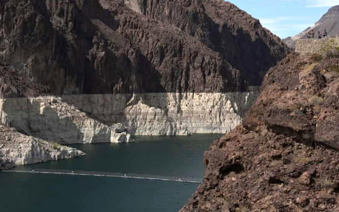 Declaran escasez de agua histórica en lago de EE. UU. y podría afectar a decenas de millones de personas