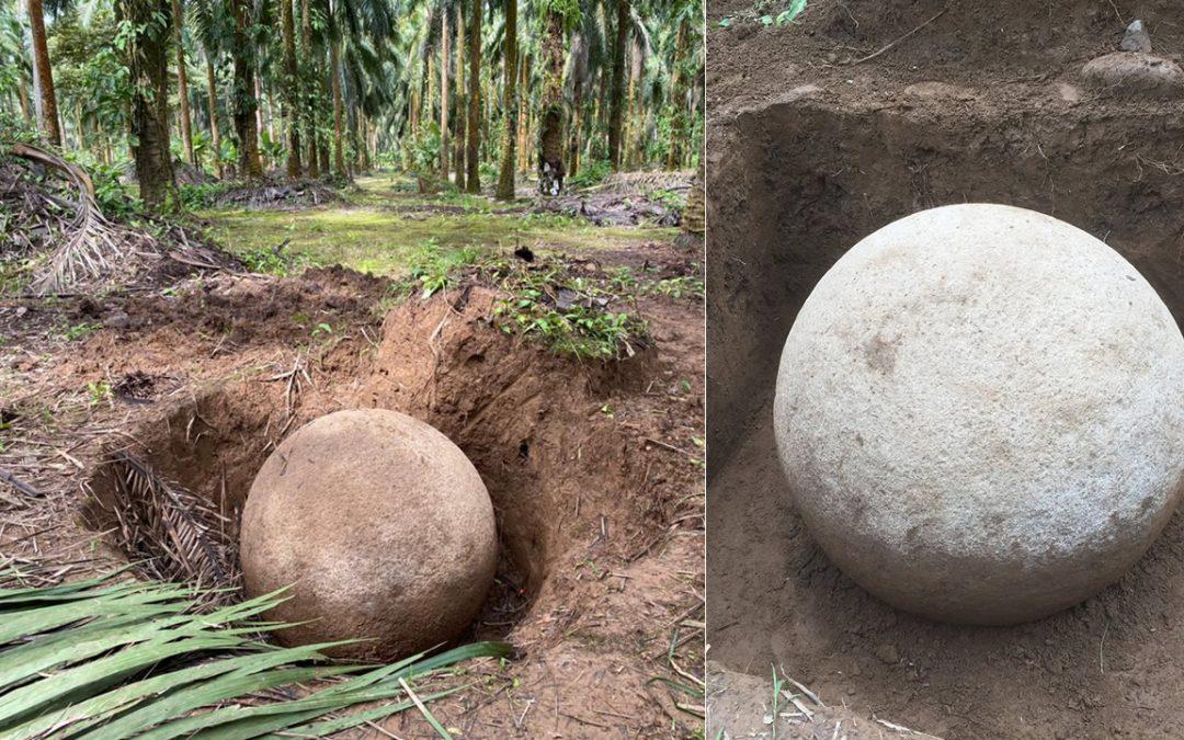 Hallada esfera precolombina de piedra en Costa Rica. ¿Restos de una civilización perdida?