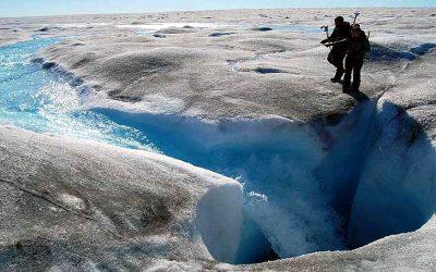 Evento de derretimiento masivo golpea a Groenlandia debido a la ola de calor del hemisferio norte