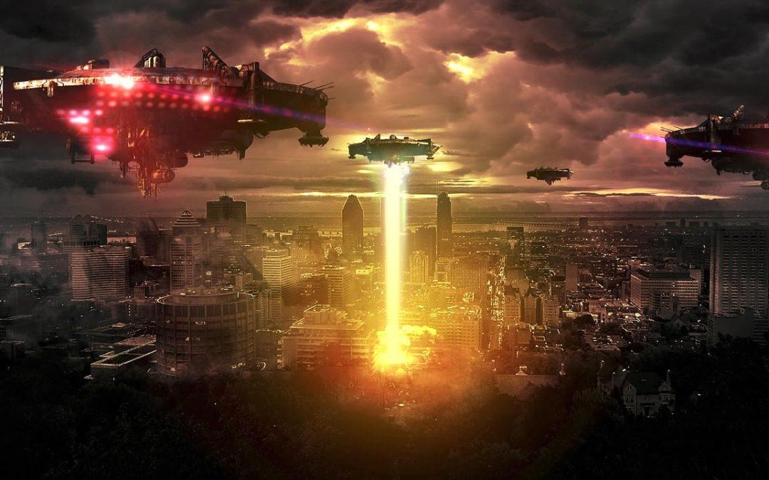 Rayo Azul: ¿se acerca una falsa invasión alienígena? (VIDEO)