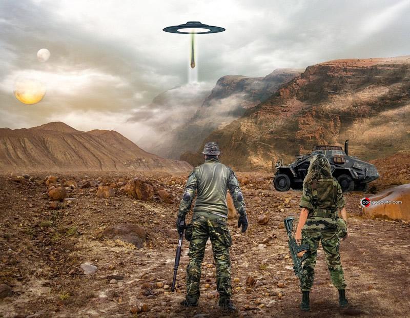 Falsa invasión extraterrestre