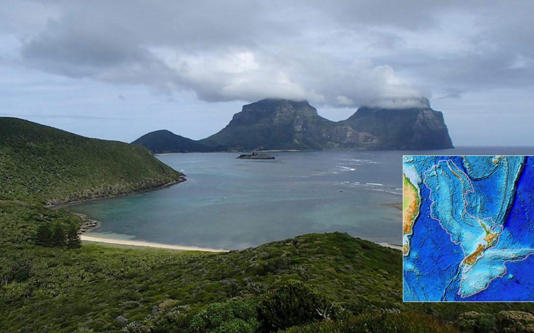 Fragmento del continente hundido de Zealandia es dos veces más antiguo de lo que se creía
