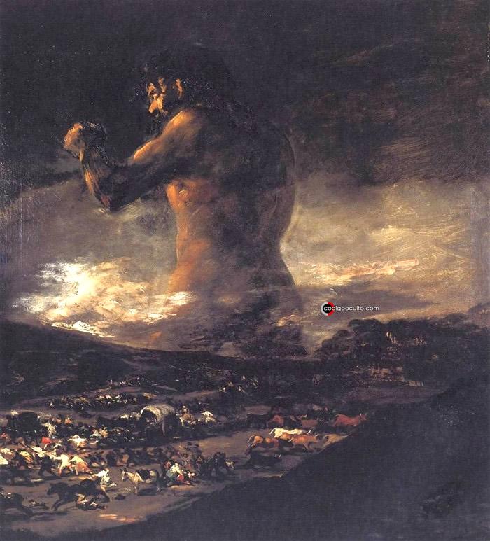 Gigantes en la mitología