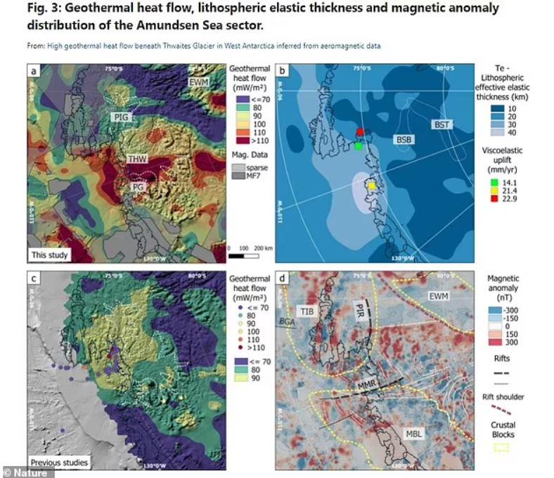 Si Thwaites se derritiera por completo, podría causar 1.8 metros de un posible aumento del nivel del mar