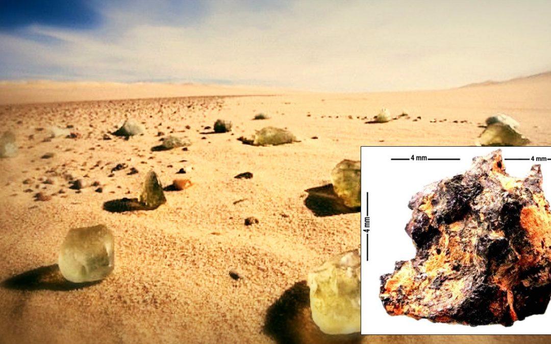 """Hipatia: una piedra """"extraterrestre"""" hallada en el desierto del Sahara"""