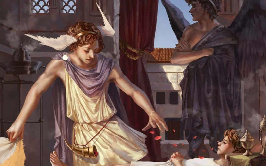Hipnos, el dios del sueño (VIDEO)