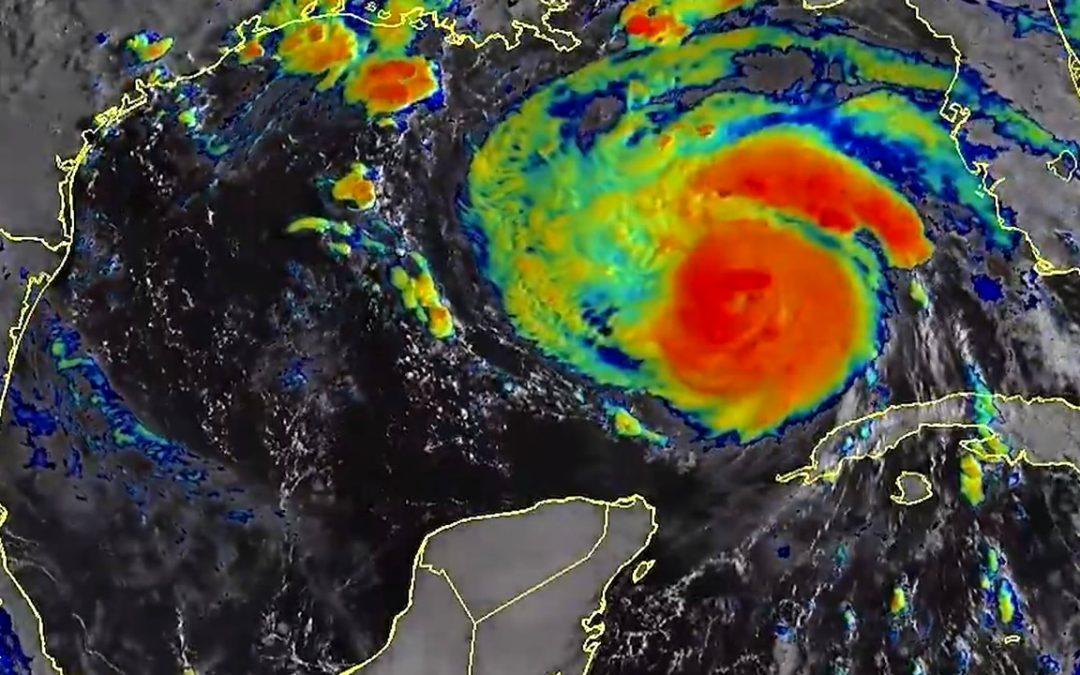 """Esperan que huracán Ida """"extremadamente peligroso"""" se fortalezca a categoría 4 al golpear la costa de EE. UU."""
