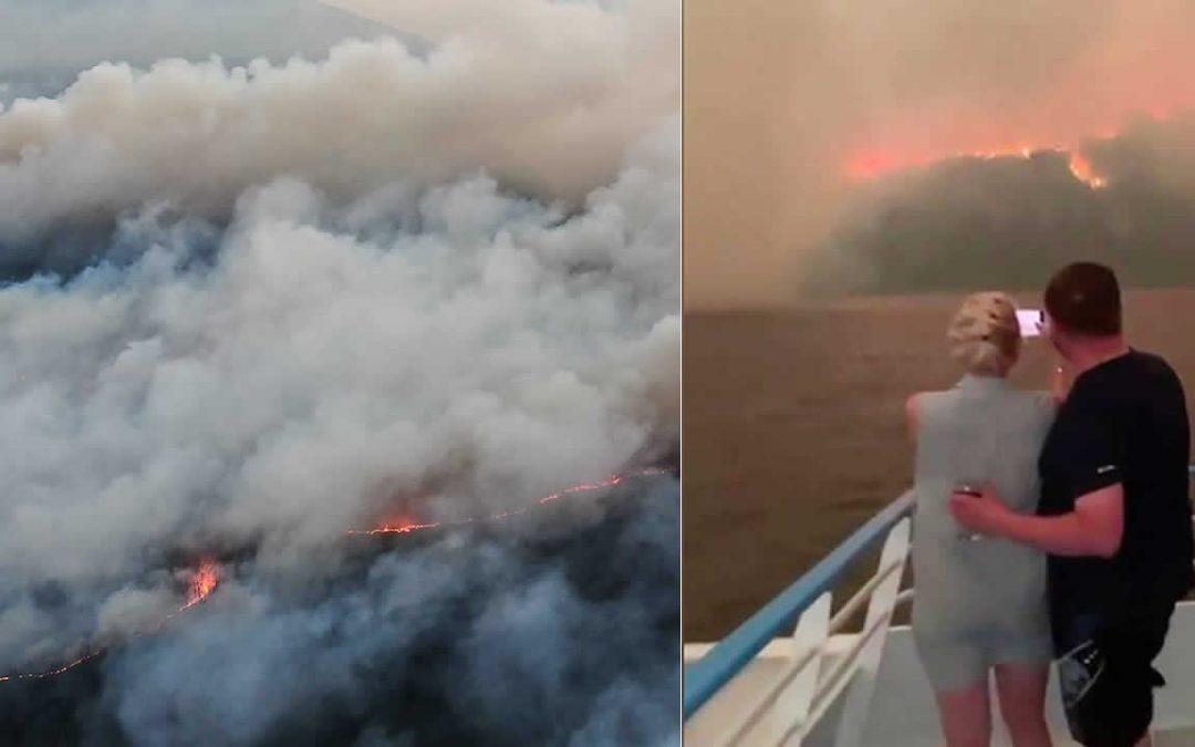 Humo de incendios forestales en Siberia llega al Polo Norte, por primera vez en la historia