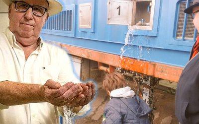 """Ingeniero crea máquina que produce agua potable """"de la nada"""""""